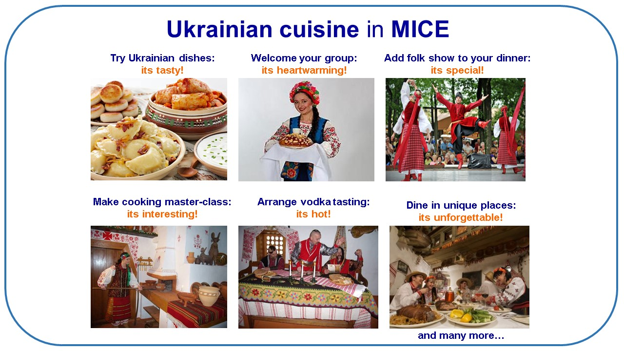 Ukrainian cuisine in MICE