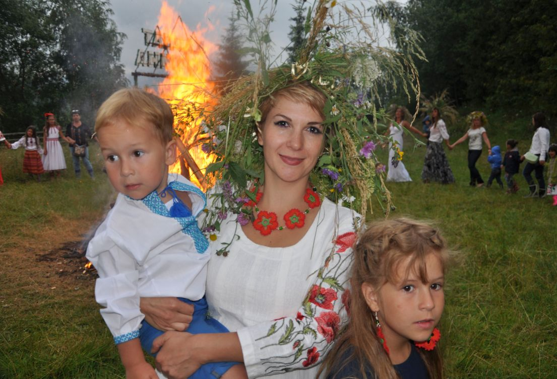 Live folk traditions in Ukraine
