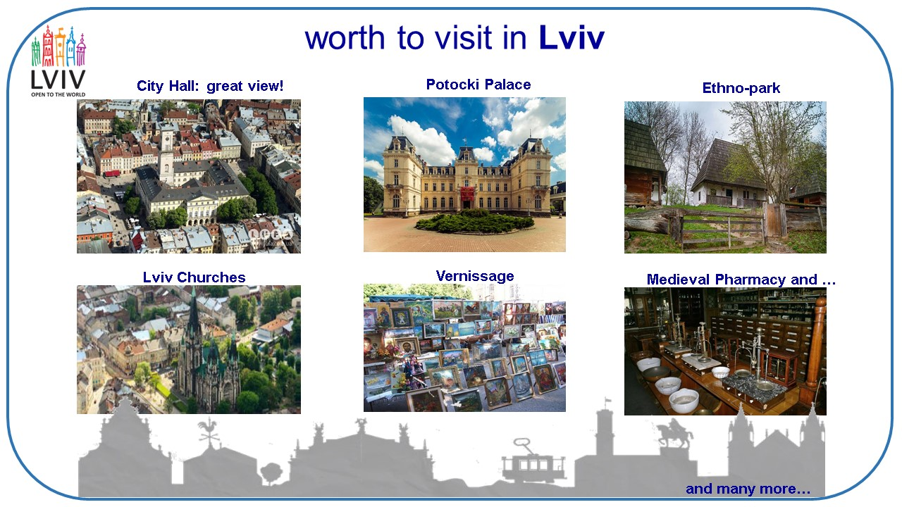 few MICE ideas for group travel to Lviv (Ukraine)