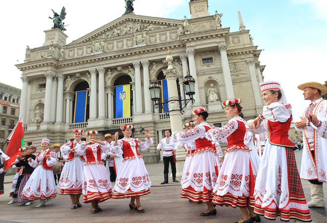 festivals are vibrant in Ukraine