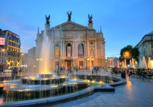 inspiring Lviv Opera