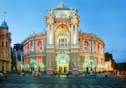 famous Odessa Opera