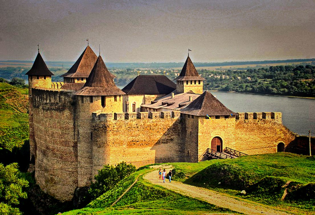 lot of Castles in Ukraine