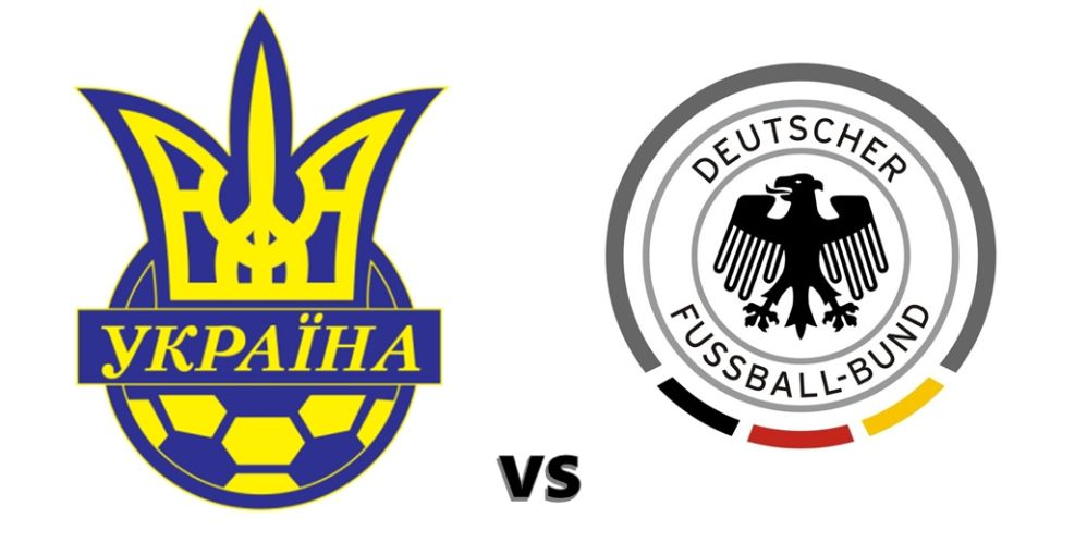 Ukraine vs. Germany, national teams